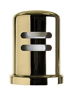 Westbrass D201-1-01 Air Gap Cap, Polished Brass