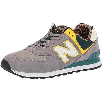 New Balance Men's 574v2 Leather Sneaker | Road Running