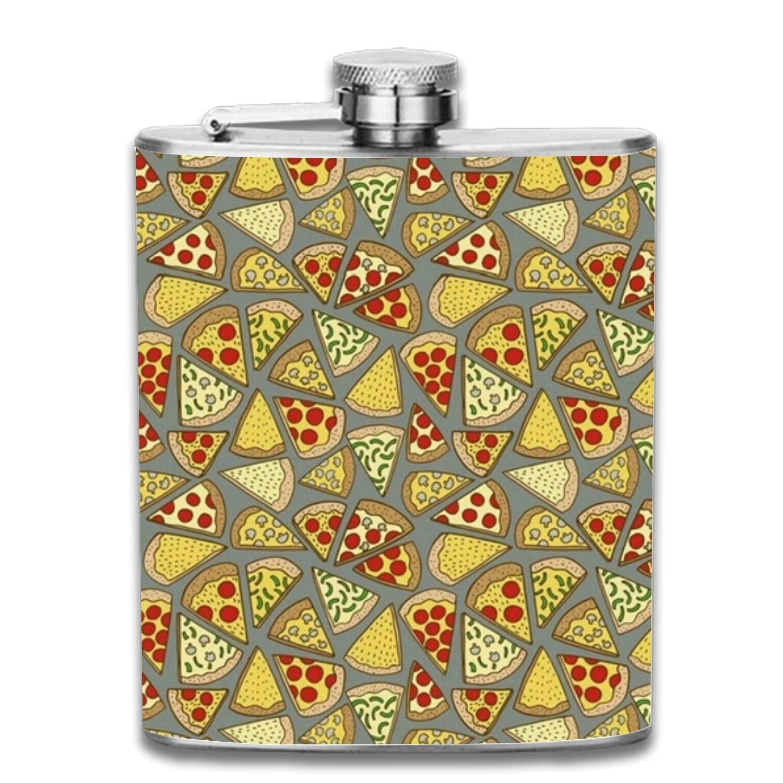 かわいい! 回転している色Liquorヒップフラスコ7ozステンレススチールShot Flasks Leak Proofクールギフトfor Leak Men one one size Pizza9 Various Pizza9 B07G2TVCB8, 猫用品のゴロにゃん:26390a01 --- a0267596.xsph.ru