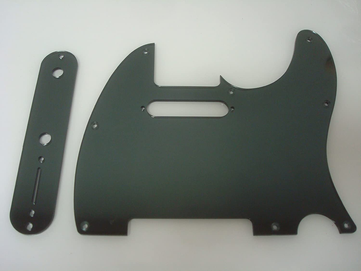 Fender Telecaster Smoke Mirror Pickguard Set