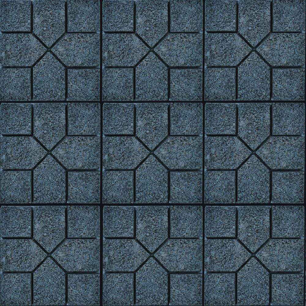 HENGMEI Molde de Pavimento Cemento Molde para acera molde de empedrado
