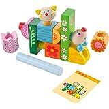Haba 302925 - 拼插玩具 猫和老鼠
