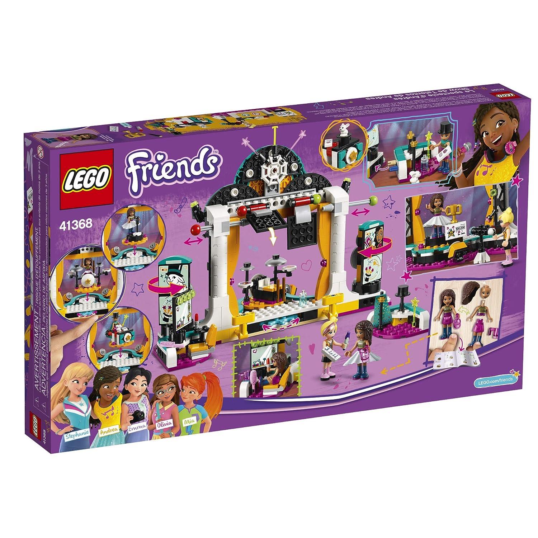 LEGO Friends Andrea/'s talent Show 41368 Building Kit 429 Pieces