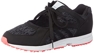 timeless design 31ff4 96860 adidas Originals Womens EQT Racing 91 W Cblack and Turbo Sneakers - 6  UKIndia