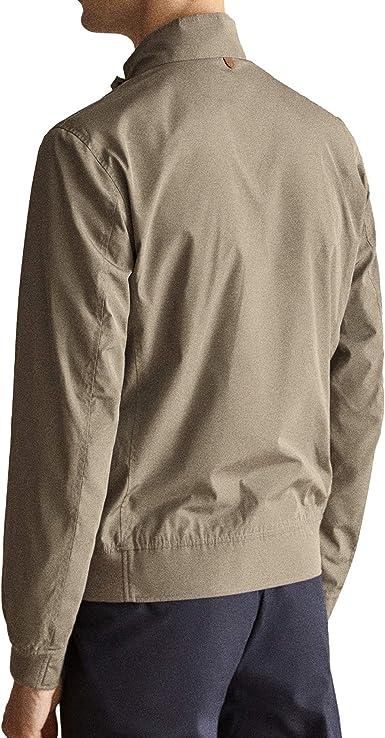 MASSIMO DUTTI 3411/261 - Chaqueta técnica para Hombre marrón ...