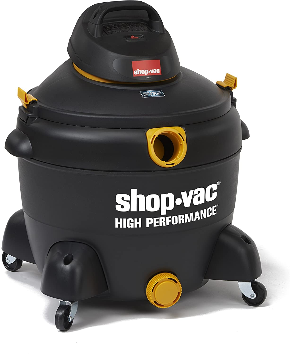 Shop-Vac 5987400 16 gallon 6.5 Peak HP High Performance Series Wet Dry Vacuum, Black/Yellow