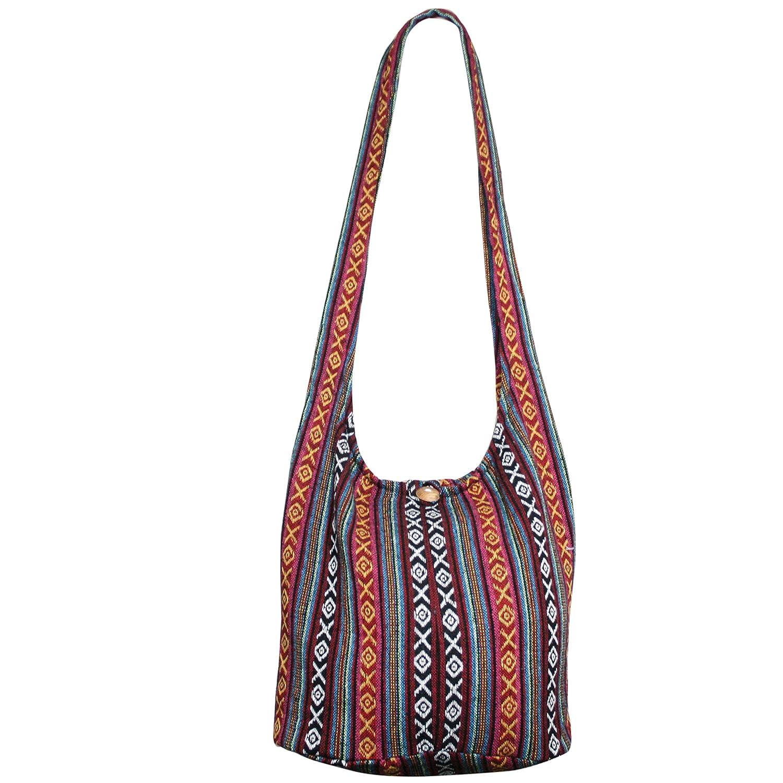 57ea52260cc6 Tonka Hippie Hobo Boho Bags Crossbody Bohemian Messenger Bags Shoulder  Sling Purses (Hb 83)
