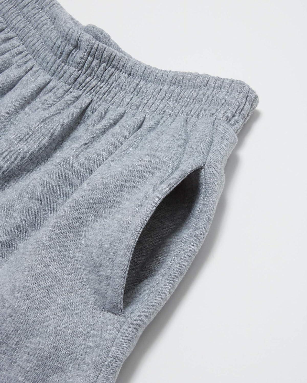 Quad Seven Boys Fleece Jogger Sweatpants with Pockets 4 Pack