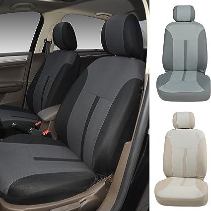2 NEW TAN FORD FOCUS TAURUS BUCKET SEAT COVERS CAR TRUCK