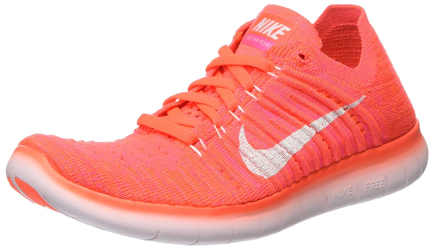 NIKE Women's Running Free RN Flyknit 2017 Running Women's Shoe B01ISLD3J2 7 B(M) US|Hyper Orange/White-total Crimson cd52ab