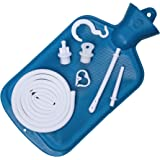 Best Colon Cleanse Enema Bag BPA Free with Tubing (2 Quart) Hot Water Bottle - Coffee, Shower, Douche & Home Adult Enema Kit