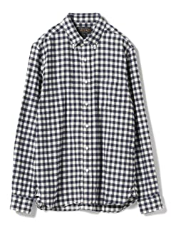 Gingham Buttondown Shirt 11-11-0713-139: Blue