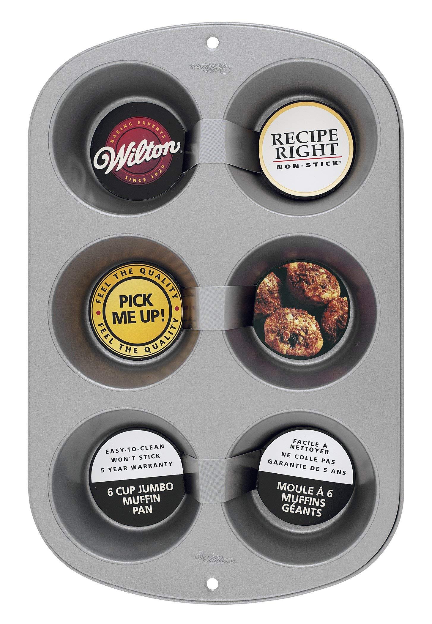 Wilton Molde para Muffin Gigantes, 6 cavidades product image