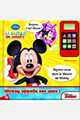MICKEY - APPELLE TES AMIS MICKEY ET MINNIE ! (LES GRANDS MUSI-LIVRES A JOUER (12)) (French Edition) Paperback