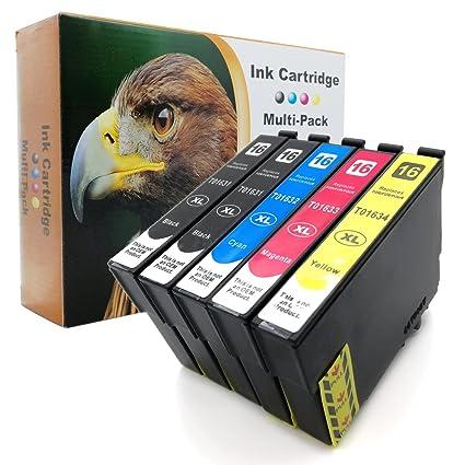 Tinta D&C, no original, para impresoras Epson Workforce WF ...