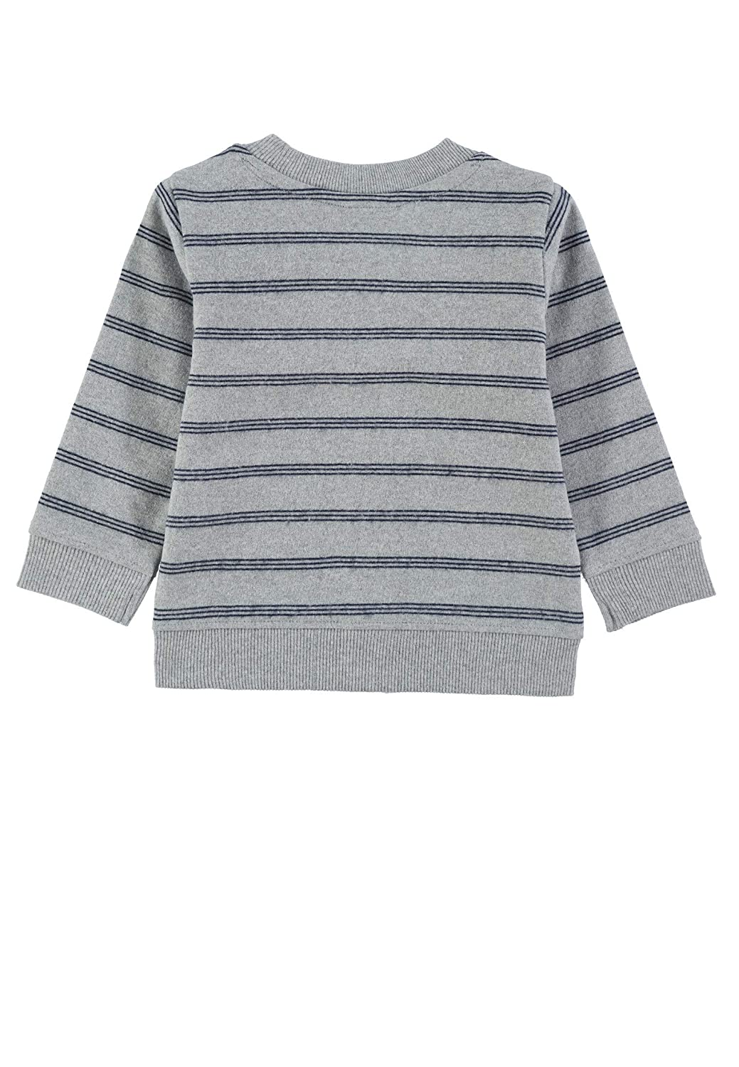 TOM TAILOR Baby-Jungen Sweatjacket Striped T-Shirt