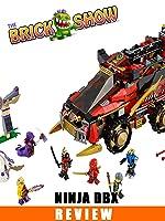 LEGO Ninjago Ninja DB-X Review : LEGO 70750