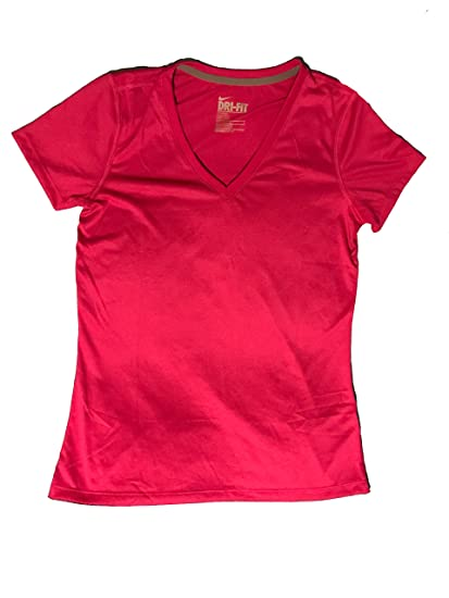 899bcf86 Amazon.com: Women's Nike Legend Dri-Fit V-Neck Training Shirt Medium:  Clothing