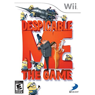 Despicable Me: The Game For Wii: Video Games