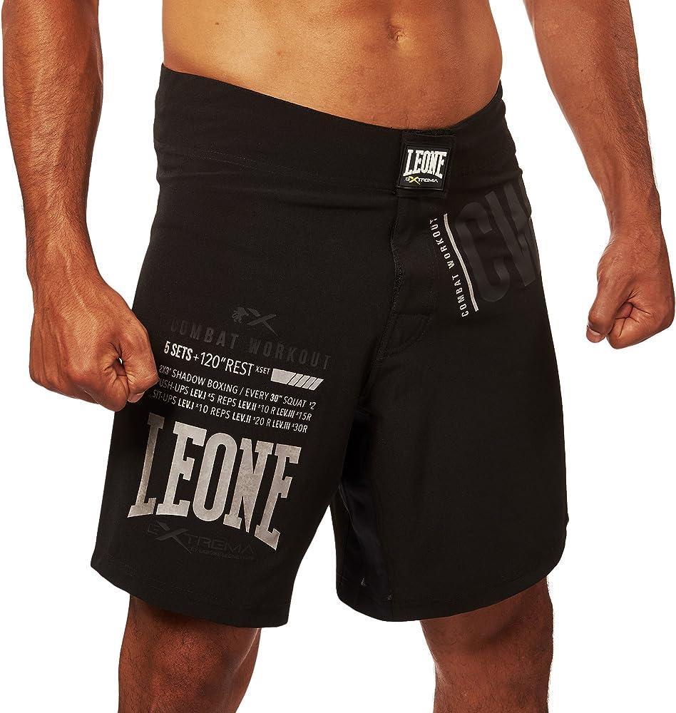Leone 1947 ABX41 Pro-CW Pantalones Cortos, Unisex – Adulto, Negro ...