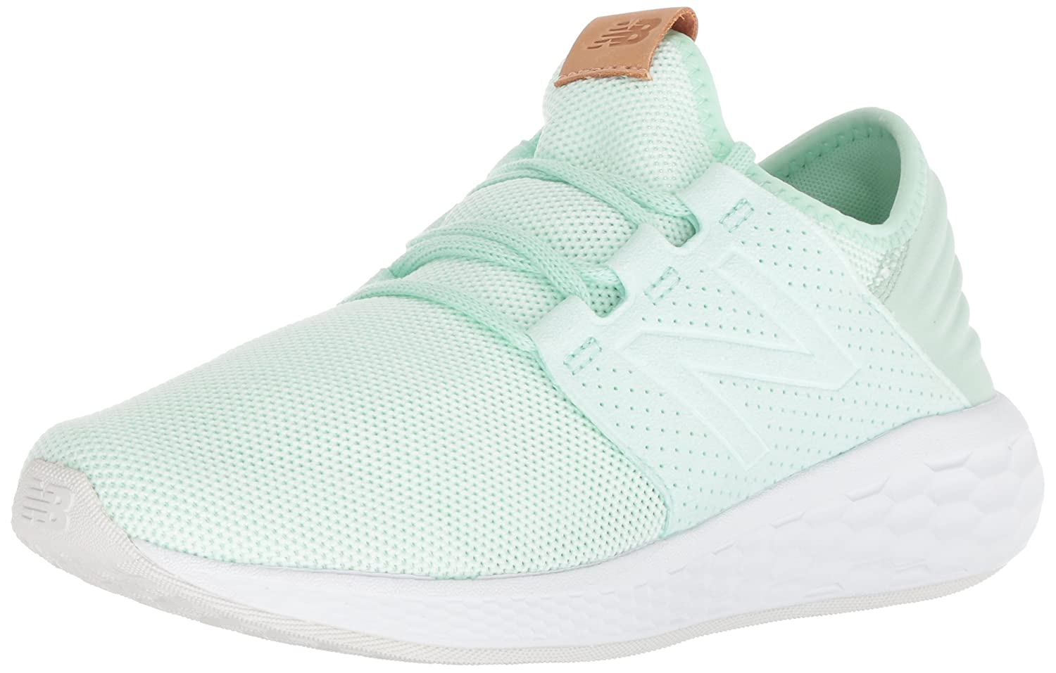 New Balance Women's Cruz V2 Fresh Foam Running Shoe B075R7D763 6 B(M) US|Seafoam Green