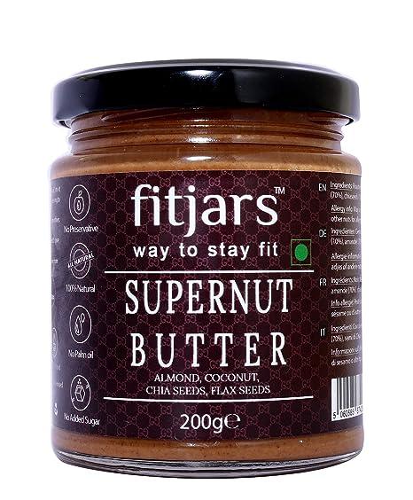 Fitjars Supernut Butter Coconut/Almond / Chia/Flax-200g℮