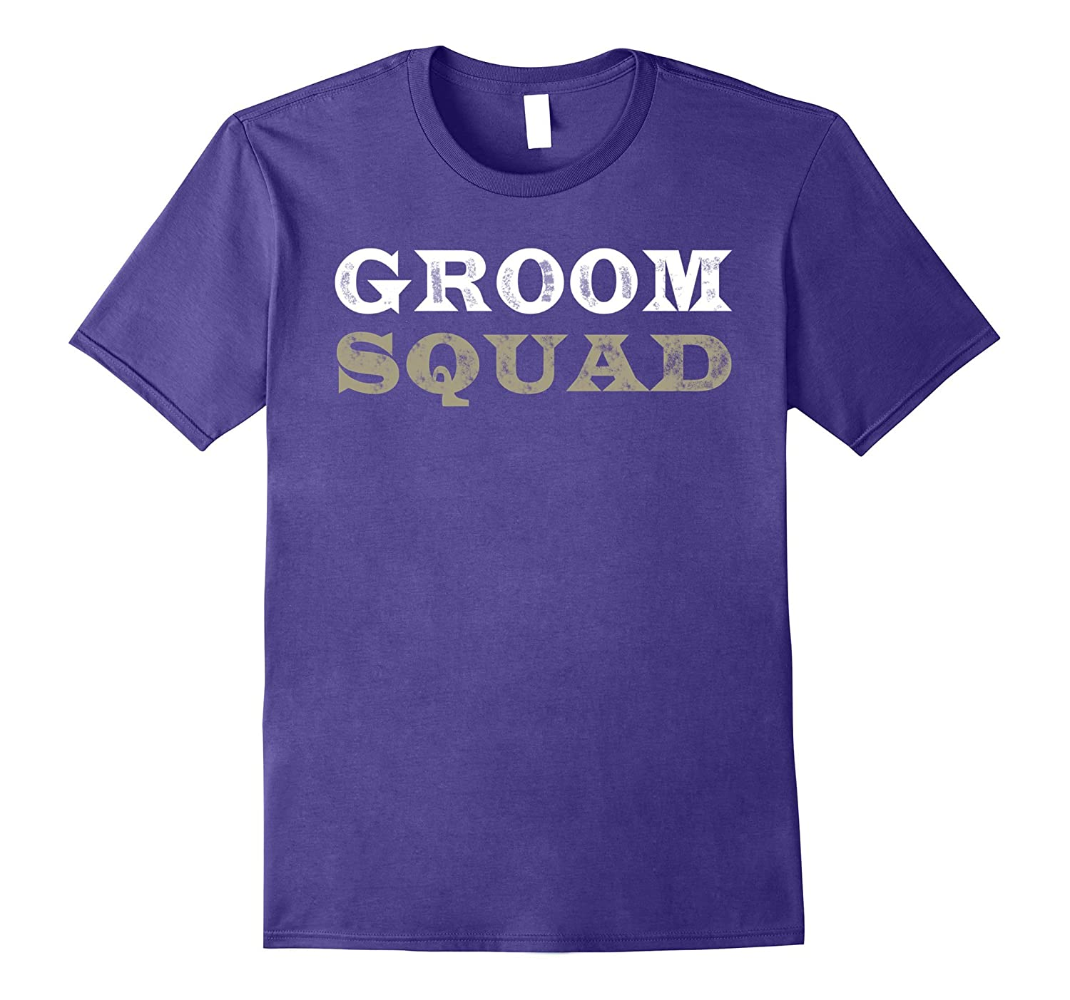 Groom Squad T-shirt Wedding Party Shirt Gift Dating-Vaci