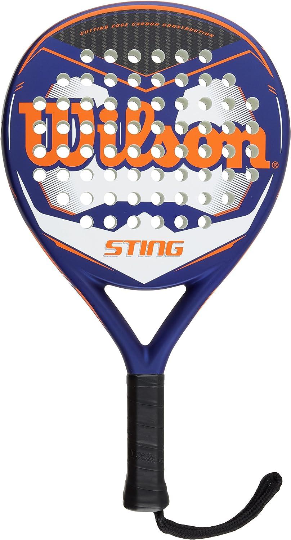 Wilson Sting Paddle - Raqueta, Color Azul/Naranja/Blanco, Talla NS ...