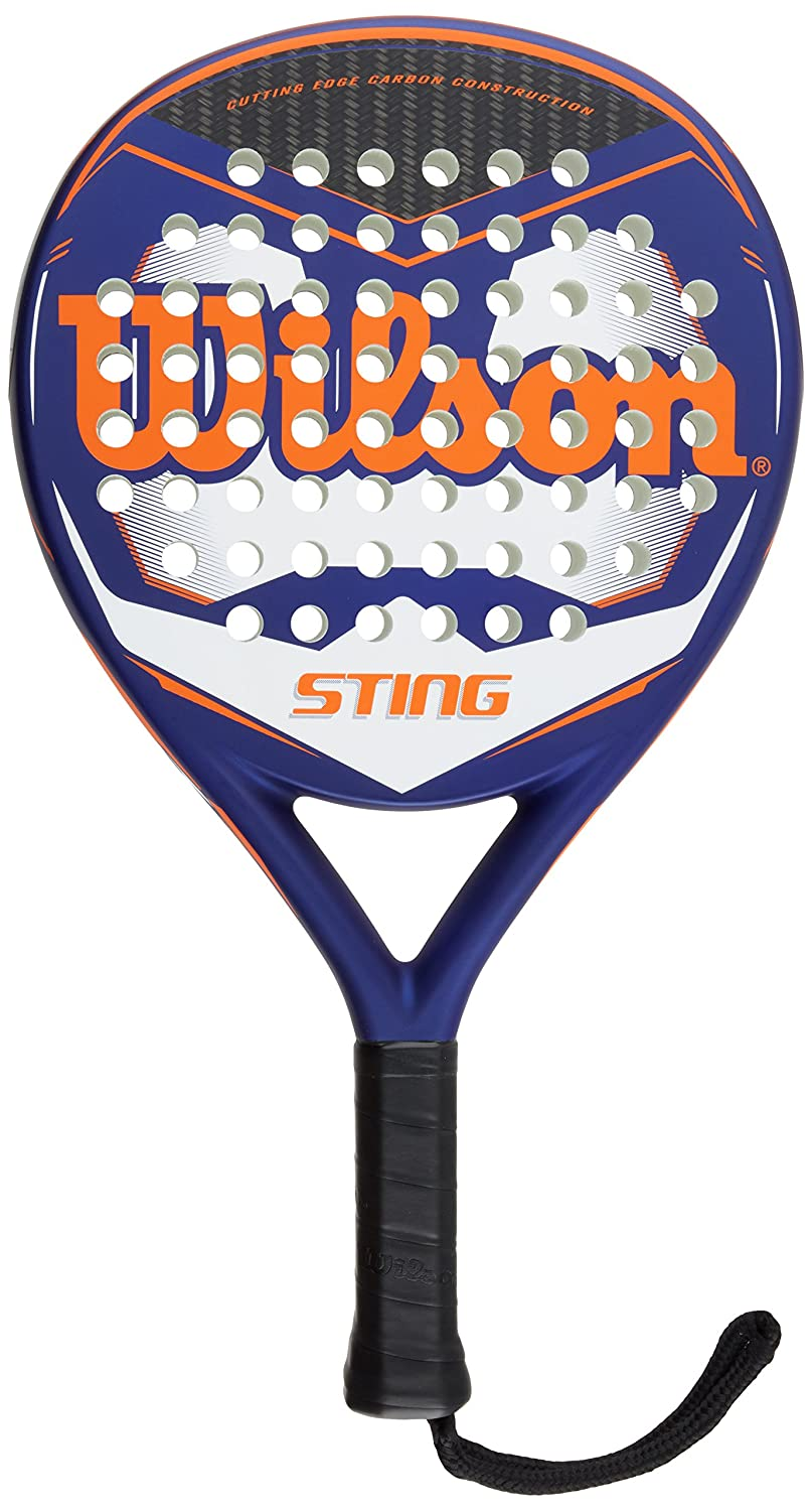 Wilson Sting Paddle - Raqueta, Color Azul/Naranja/Blanco, Talla NS ...