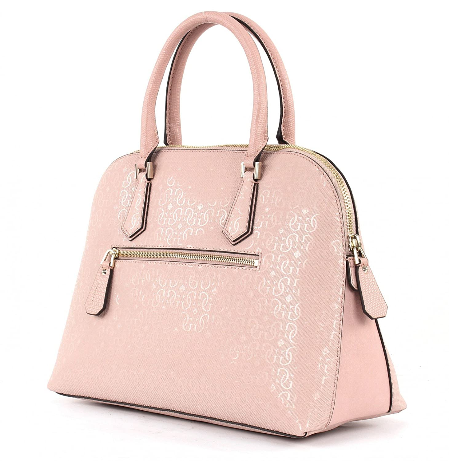 Guess Rosalind Dome Satchel Cameo in rose | fashionette