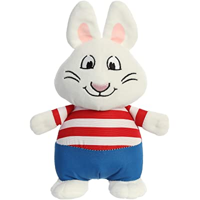 """Aurora - Max and Ruby - 6.5"""" Max, White: Toys & Games"""