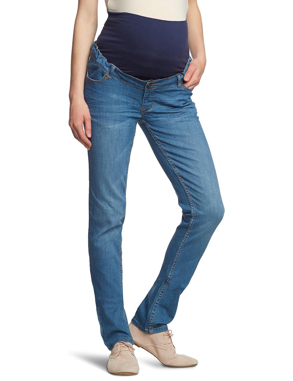 ESPRIT Maternity Damen Umstandsmode- Hose M8C009 - Straight Fit (Gerades Bein)
