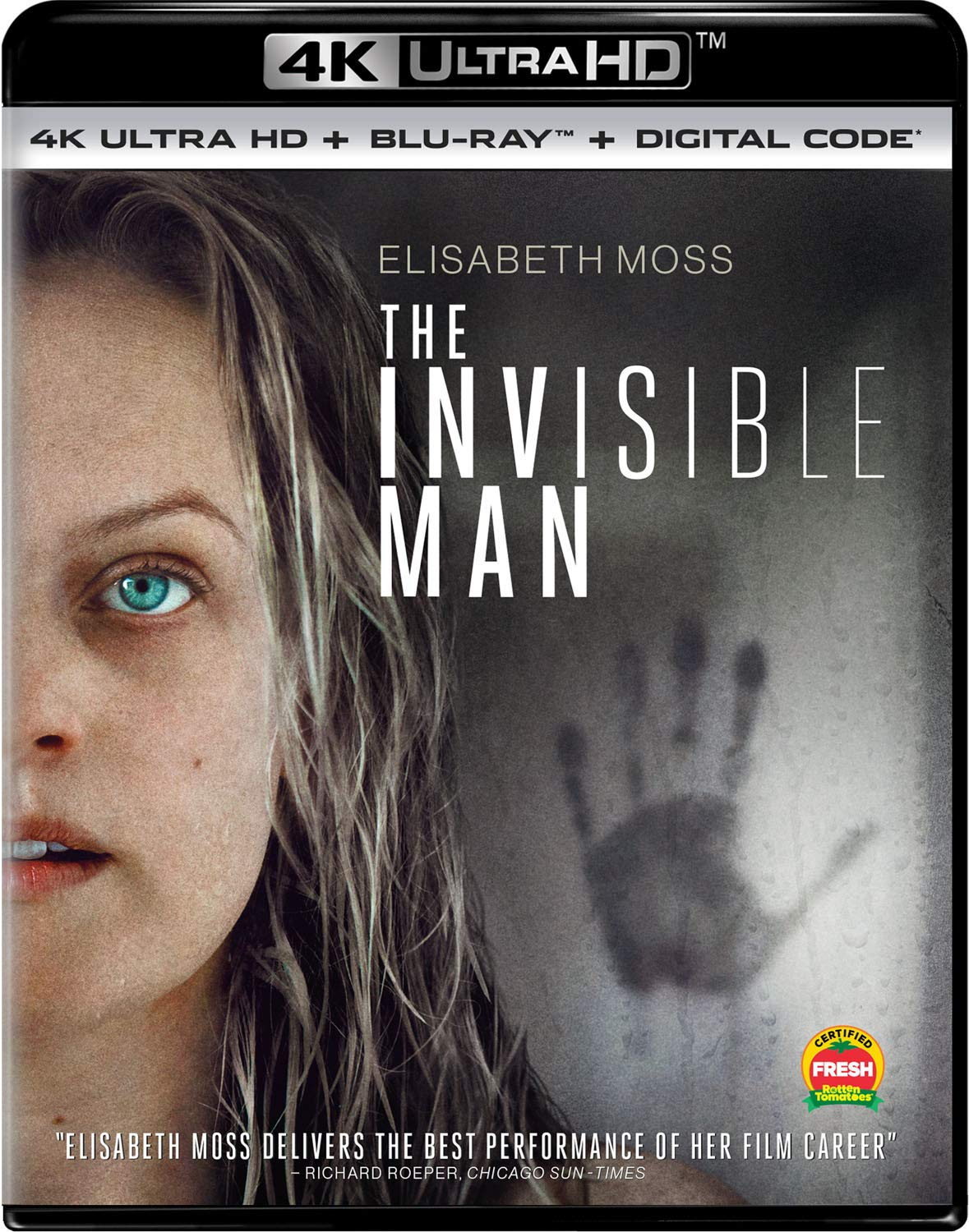 Amazon.com: The Invisible Man (2020) [Blu-ray]: Elisabeth Moss ...