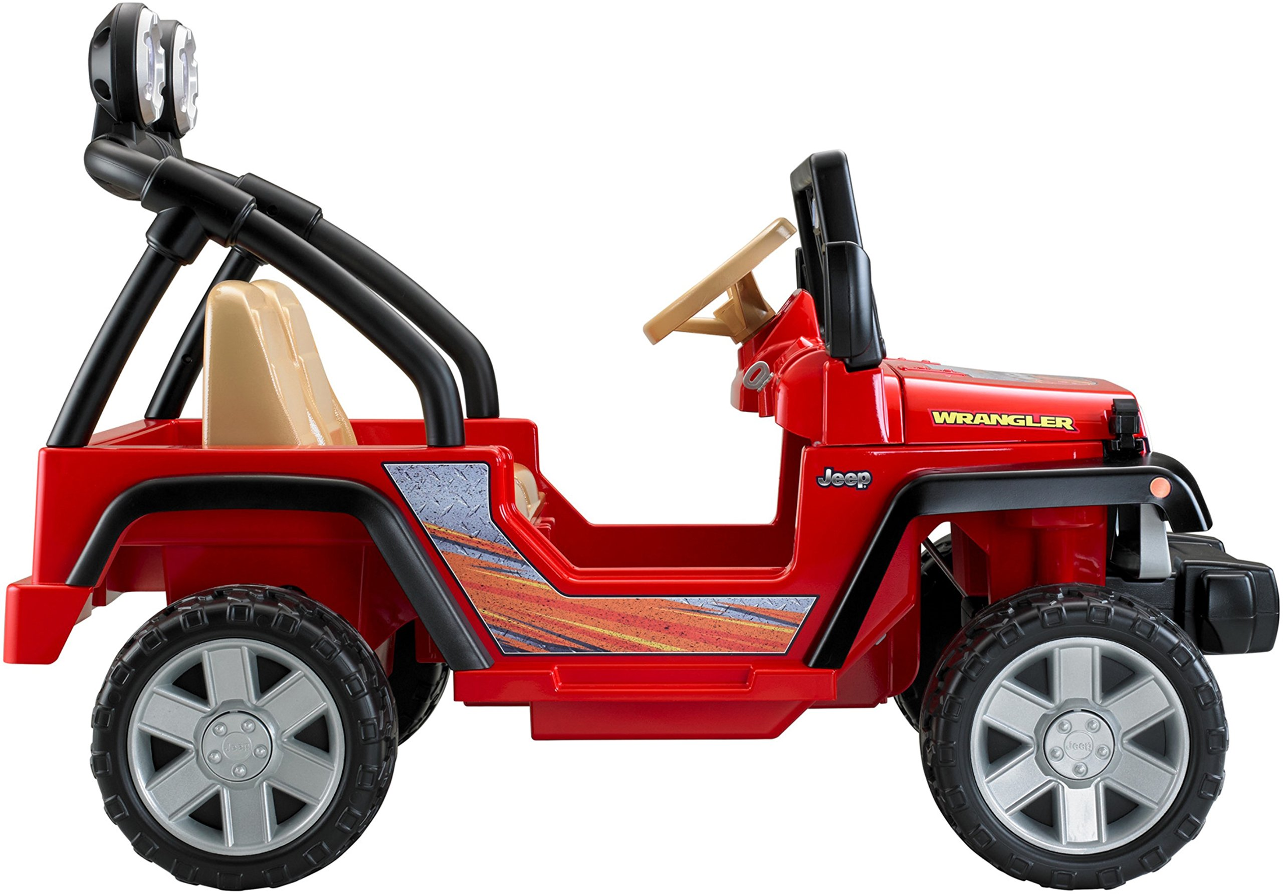 Power Wheels Jeep Wrangler, Red by Fisher-Price (Image #6)
