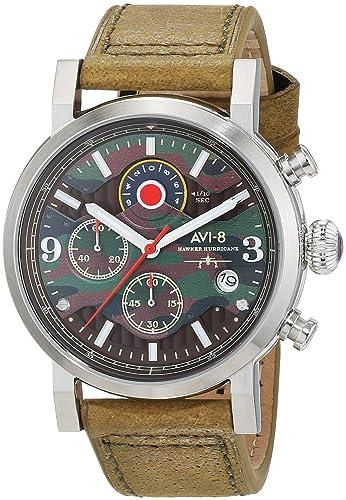 Reloj - AVI-8 - Para Unisex - Hawker Hurricane AV-4041-06: Amazon.es: Relojes