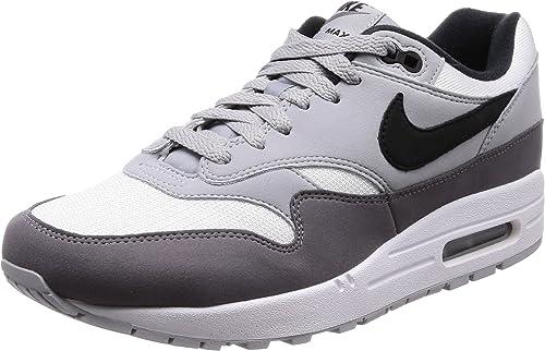 Nike Herren Air Max 1 Laufschuhe, Weiß, 8.5 EU
