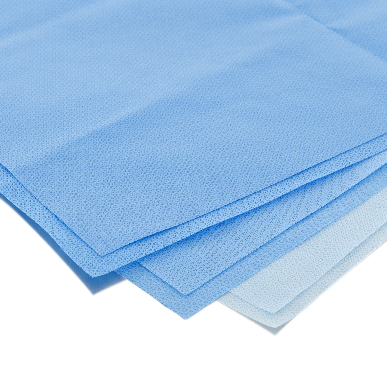Halyard Health 10718 H100 Sequential Sterilization Wrap, 18'' x 18'' (Pack of 2)