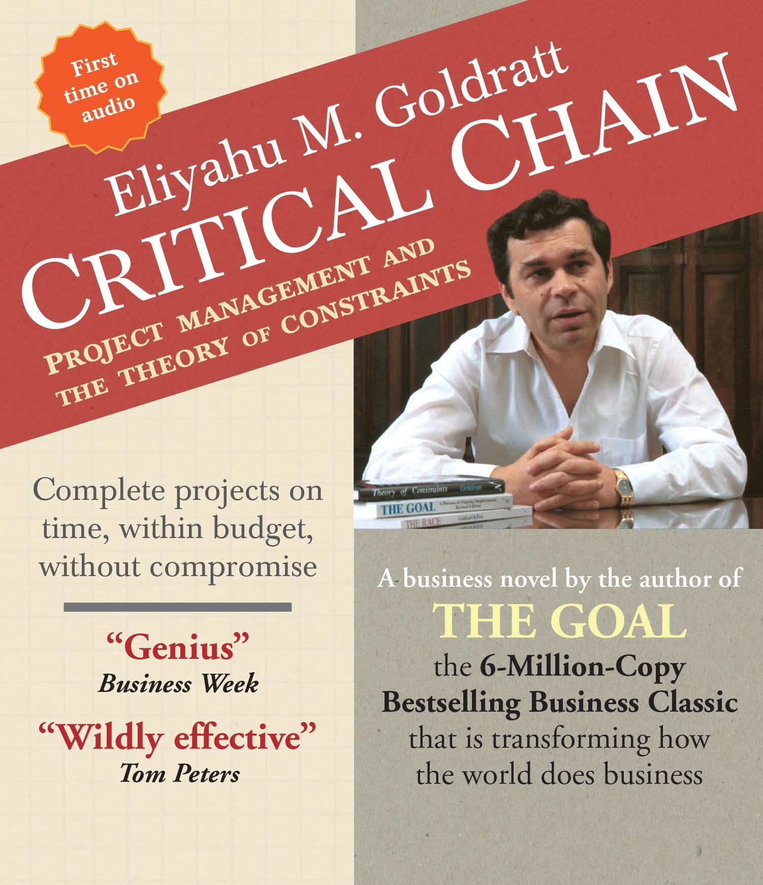 Amazon: Critical Chain: Project Management And The Theory Of  Constraints (9781622314003): Eliyahu M Goldratt, Rick Adamson, Alexander  Cendese,