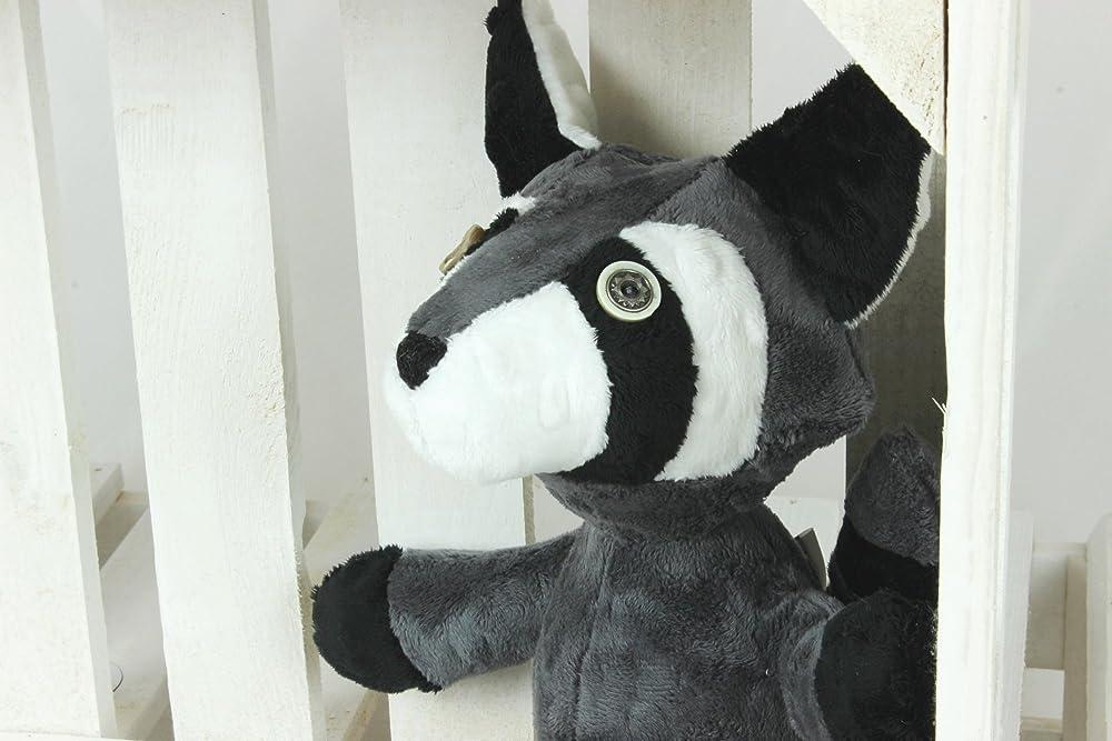 Plush Raccoon Soft Toy Martin Mascot Raccoon Stuffed Raccoon Handmade Raccoon