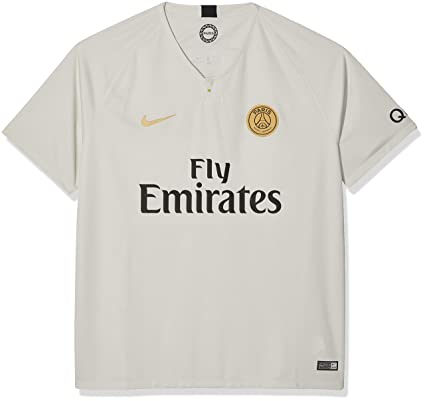 Nike 2018-2019 Paris Saint-Germain (PSG) Away Stadium Jersey (Light. Roll  over image to ... 8643732ce