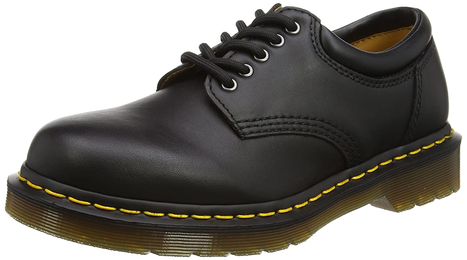 Dr. Martens unisex-adult 8053 5 Eye Padded Collar Boot B001VUGY3A 12 UK/13 M US|Black