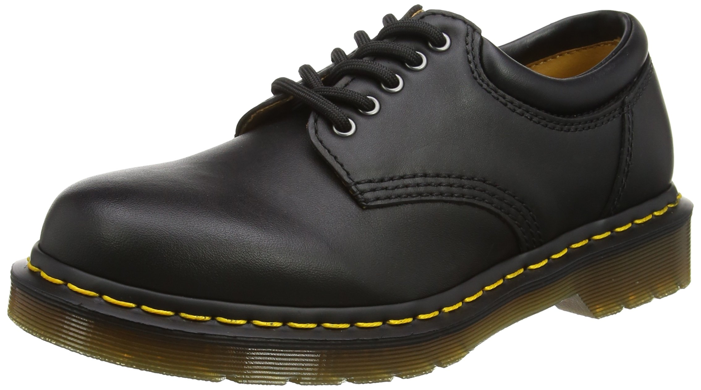 Dr. Martens R11849001 8053 5 Eye Padded Collar Oxford, Black Nappa 8 UK 9 US by Dr. Martens