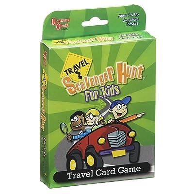 Travel Scavenger Hunt For Kids Card Game