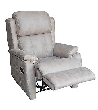 pamf Sillón reclinable, cómodo sillón Relax, Moderno ...