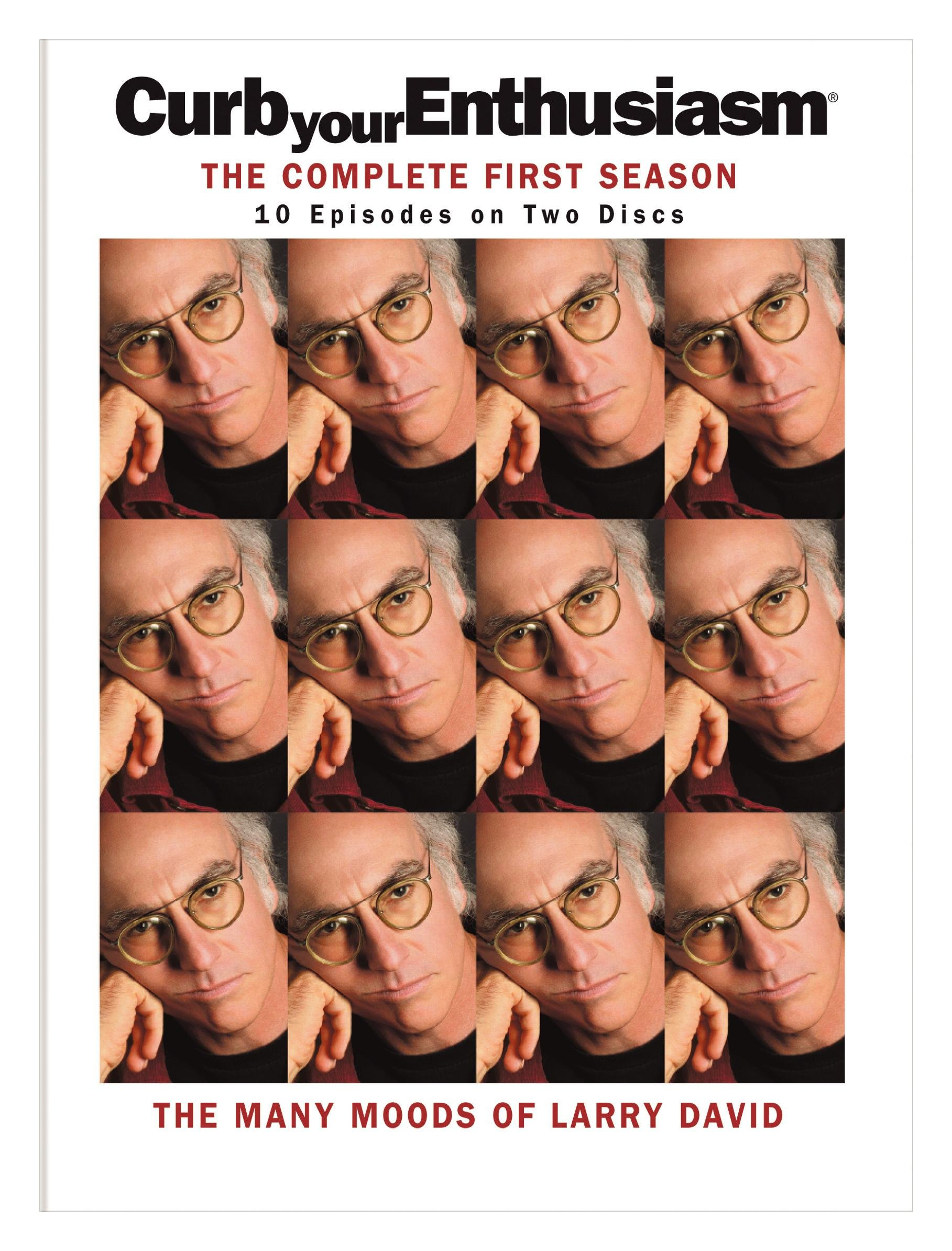 DVD : Curb Your Enthusiasm: The Complete First Season (Digipack Packaging, Dubbed, , Standard Screen, 2 Disc)