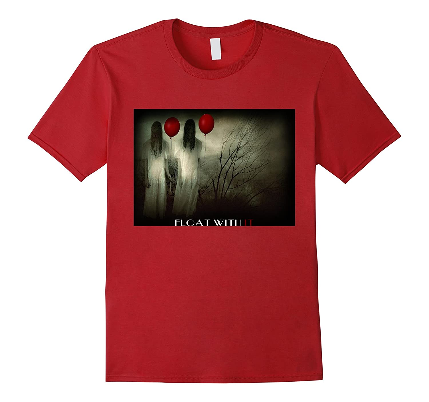 2017 red Balloon Horror Halloween T-shirt-TJ