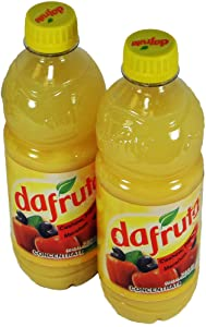 Dafruta Cashew Juice Concentrate - 16.9 FL.Oz | Suco Concentrado Dafruta Sabor Caju - 500ml - (PACK OF 02)