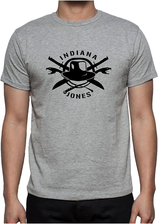 The Fan Tee Camiseta de Hombre Indiana Jones Payaso Terror Peliculas: Amazon.es: Ropa y accesorios