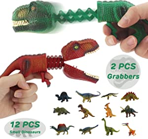 Win A Free GreenKidz Hungry Dino Grabber Toy with Dinosaur Figures...