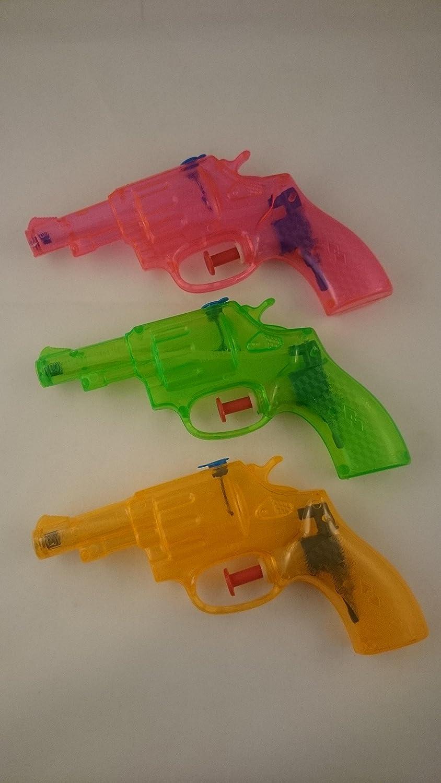 100 Wasserpistolen Revolver 13 cm